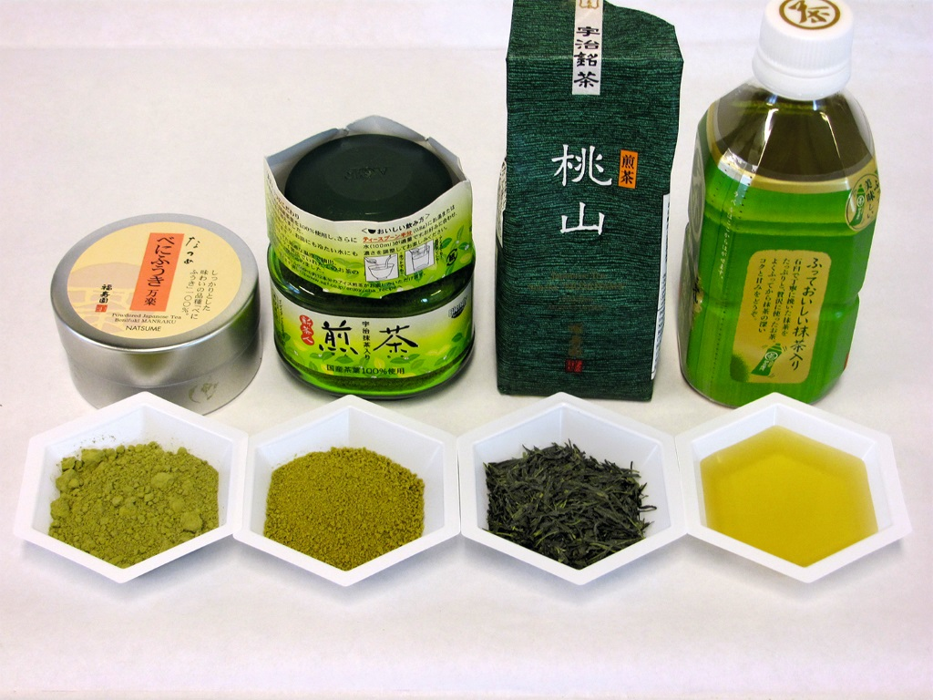 Comprehensive Testing of green Tea<br />